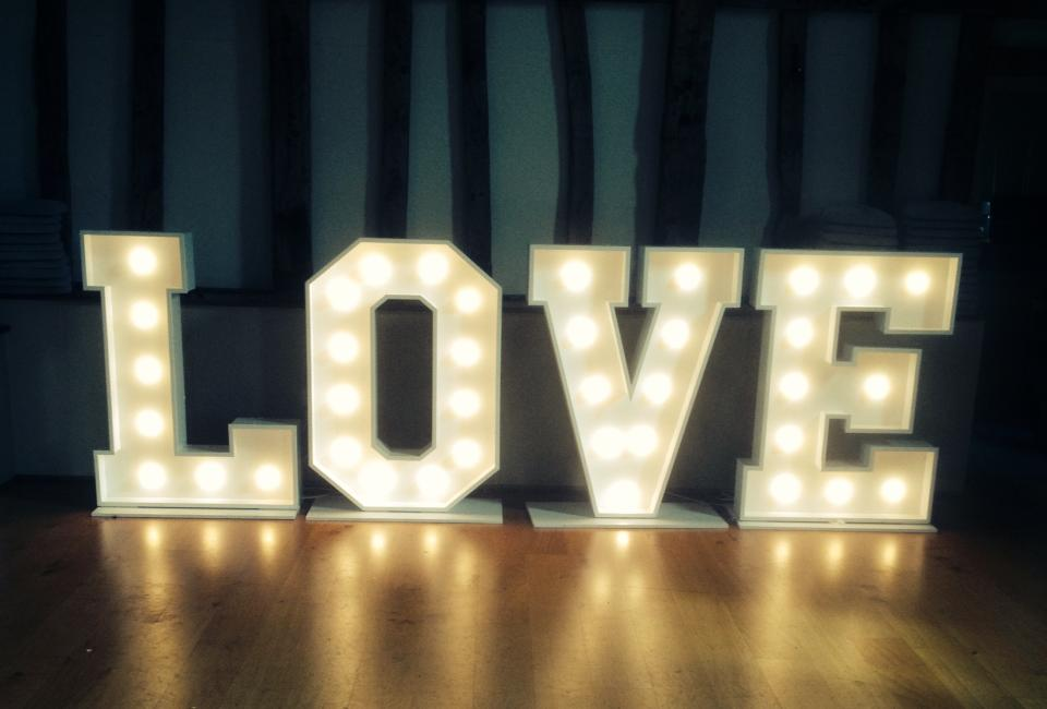 Giant Love Letters For Hire