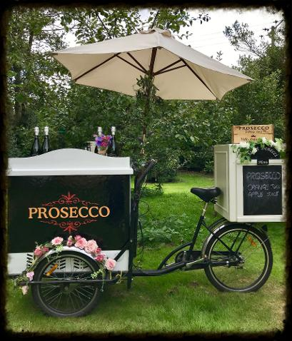 Prosecco Tricycle Hire