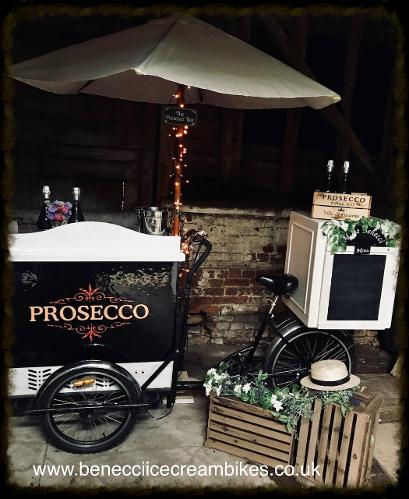 Prosecco Drinks Cart Hire